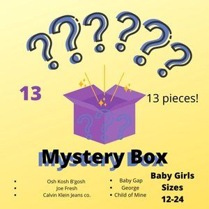Baby Girls Mystery Box Sizes 12-24month(17 pieces)